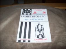 Bamber Bridge v Bacup Borough, 1992/93